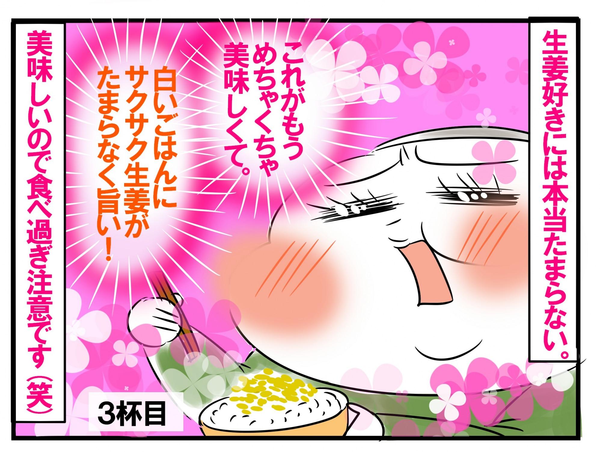 すぎ 生姜 食べ