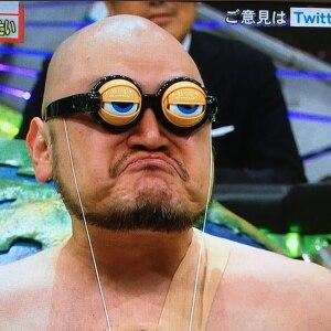 ハリウッド ザコシショウ メガネ